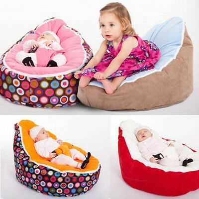 Beanbags Sofa Chair Newborn Kid Snuggle Bed Baby Harness Bean Bag Bed No Filling