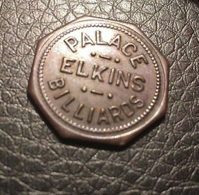 Elkins West Virginia  25 Cent Token Palace Billiards Good For Trade Pool Hall