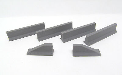 Safety Barriers  Plastic   1:50 Scale  3D to Scale 50-103-GY