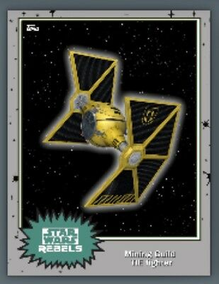 Mining Guild Tie Fighter-Mystery ???-Topps Star Wars Card Trader