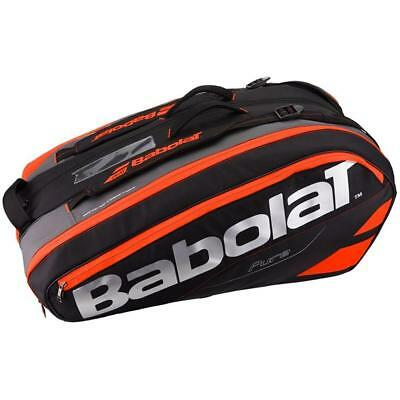 NEW Babolat Pure RH X12 Racquet Bag Racket Holder - FLUO RED