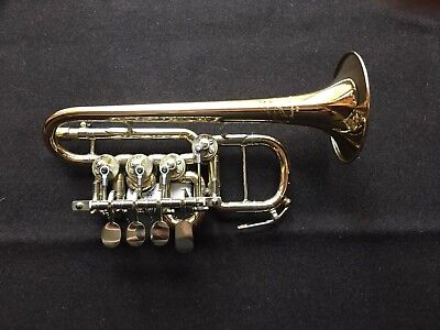 Piccolo trumpet by J. Scherzer A/B flat. model 8111