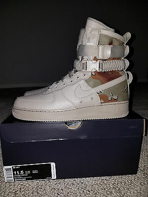 Nike Special Field Air Force 1 SF AF1 Desert Camo Mens Size 11.5