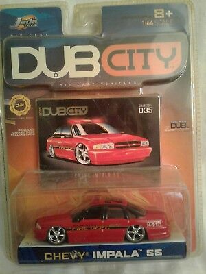 JADA TOYS DUB CITY 1960 CHEVY IMPALA COLLECTOR SERIES 1,IN MINT 1:64 ...
