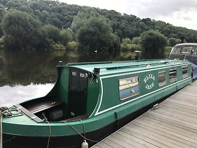 Narrow boat Canal boat 40ft Dobson, all steel, BMC 1.5, Priced to sell