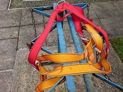 PROTECTA FULL BODY HARNESS unused, clean and safe PPE. AB101. GENUINE ARTICLE