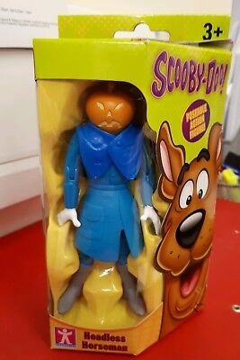 """Scooby doo NEW UNOPENED  EXTREMELY RARE  5""""  ghost Figure- headless horseman"""