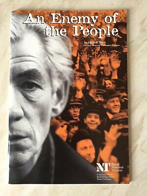 An Enemy Of The People, National Theatre Programme