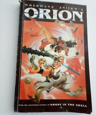 ORION Graphic Novel by Masamune Shirow creator of Ghost in the Shell, TPB