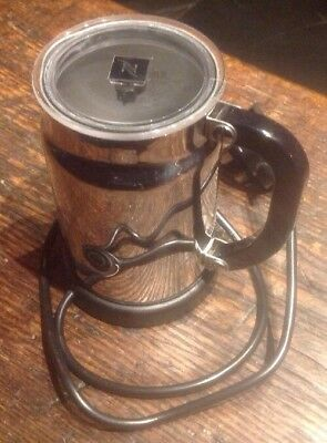Nespresso Aeroccino Milk Frother Warmer Model 3190 With 2 Magnetic Whisks