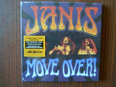 """Janis Joplin- Move Over Strictly Limited Numbered 4x 7""""Single Box RSD-Edition"""