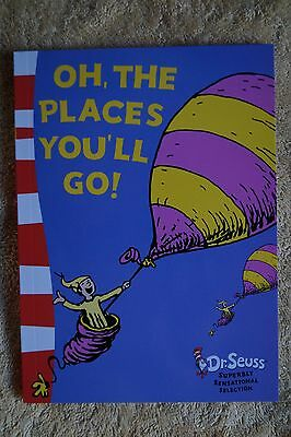 Oh The Places You'll Go Dr Seuss Dr. Seuss Pocket Size Brand New Child Book