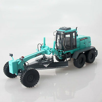 Diecast Motor Grader 1:35 Scale Heavy Construction Vehicle Model Turquoise