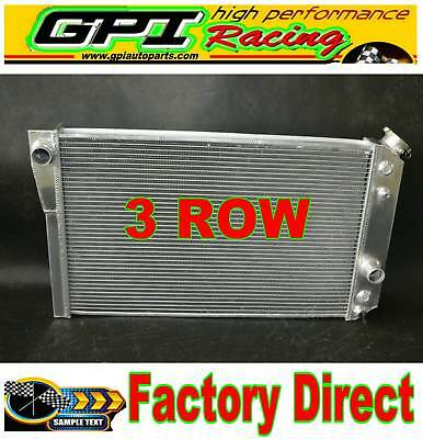 1984-1990 Chevrolet Corvette C4 Small Block V8 5.7L Aluminum Radiator New AT/MT
