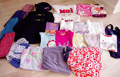 Big bundle of clothes for 5-6 years old girls ,24 items