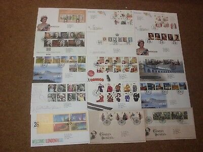 Excellent Collection 2012 GB FDCs - all spec HS (15) - rf265
