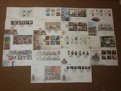 Excellent Collection 2009 GB FDCs - all spec HS (18) - rf265