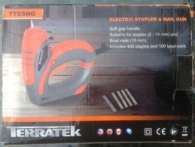 Terratek electric stapler