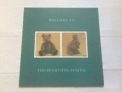"""Rare Alternate cover Beautiful South LP 12"""" Welcome to The Beautiful South"""