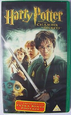 Harry Potter And The Chamber Of Secrets (VHS Video Tape, 2003)