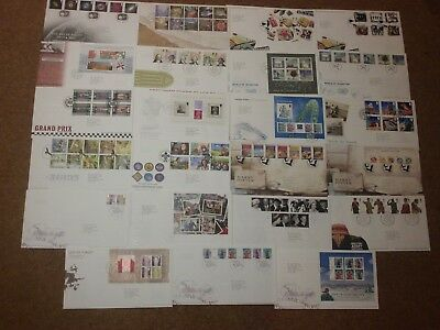 Excellent Collection 2007 GB FDCs - all spec HS (23) - rf265