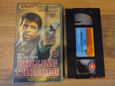 Rolling Thunder Vhs Pre Cert Small Box Rank Home Video.