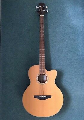 Takamine EG512C Acoustic-Electric Bass Guitar, used in great condition