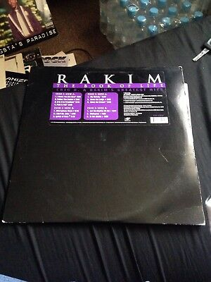 Rakim - The Book Of Life Vinyl Double LP
