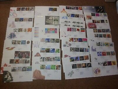 Excellent Collection 1999-2000 GB FDCs - all spec HS (30) - rf265
