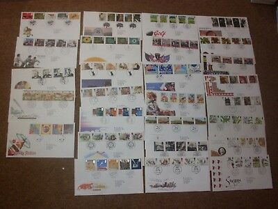 Excellent Collection 1993-95 GB FDCs - all spec HS (27) - rf265