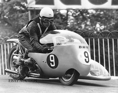 BMW RS 500 Rennsport sidecar 1954 Colin Sweeney motorcycle racing photo