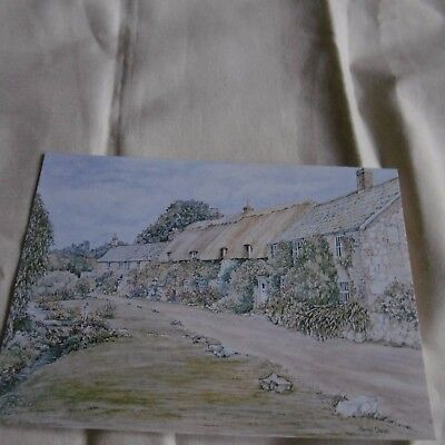 NEW 4 x Picture Postcards: Isle of Wight Watercolours by Muriel Owen