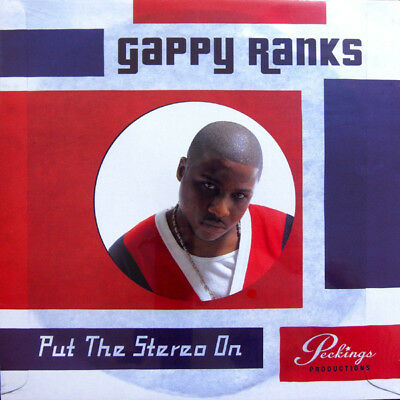 Gappy Ranks - Put The Stereo On - LP Vinyl - New