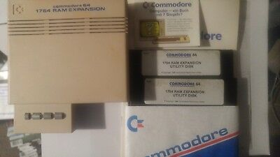 Commodore 1764 + Software + Anleitung (256 Kb Ram für Commodore C64)
