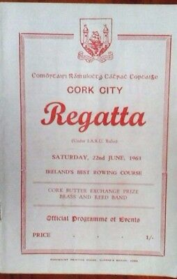 Cork City Regatta 22/6/1963