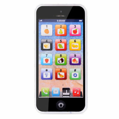 BLACK Toy Phone Baby Children Y-Phone Educational Learning Kids TOY iPhone 4s 5
