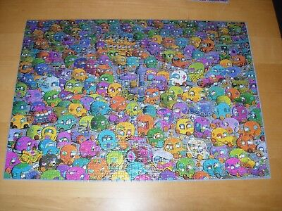 HEYE jigsaw 1000 pieces 'Stop and Go' in VGC & complete with poster