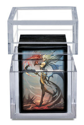 Ultra Pro - Ice Tower - Deck Box - Clear - Ideal For Magic MTG Pokemon Cards