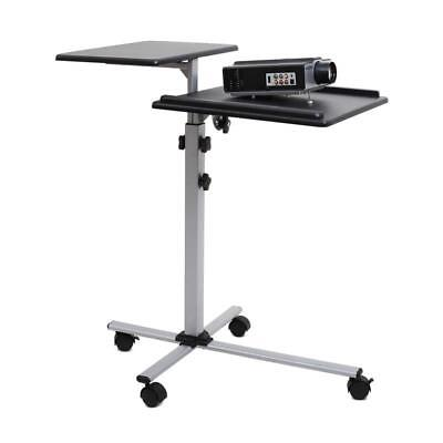 Frontstage Ts2 Two Level Height Adjustable Projector Table Beamer Stand Wheeled