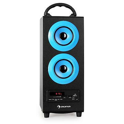 Oneconcept Beachboy Blue 2.0 Sound System Bluetooth Mp3 Speaker Usb Sd Aux Fm