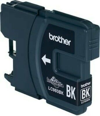 Brother Cartridge Lc980Bk Injet Black 300 Pages