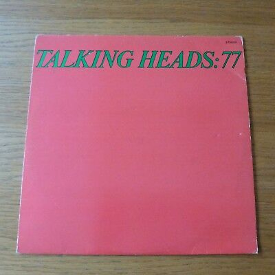 Talking Heads: 77 Vinyl LP 1977