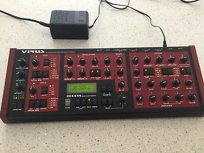 Access Virus vintage synth 1997