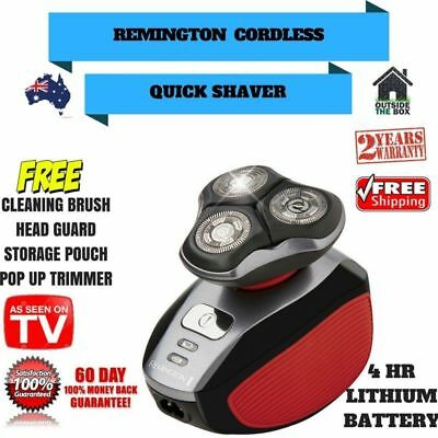 Quick Shaver Mens Remington Shave New Cordless Electric Rotary Hair Removal Kit