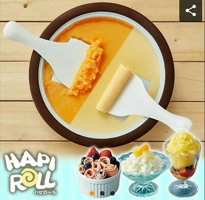 Doshisya Hapi Roll Ice Cream Sherbet Maker Cooking From Japan  F/S  HAPI roll