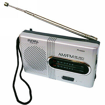 Battery Powered Ourtdoor Portable AM/FM Telescopic Antenna Radio World Receiver
