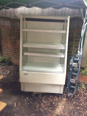 99p Start Price Refrigerated Open Display Drinks Chiller SPARES Or REPAIR