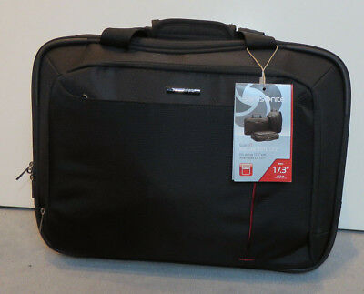 "Samsonite Guardit Rolling Tote 17.3"" 24L Black"