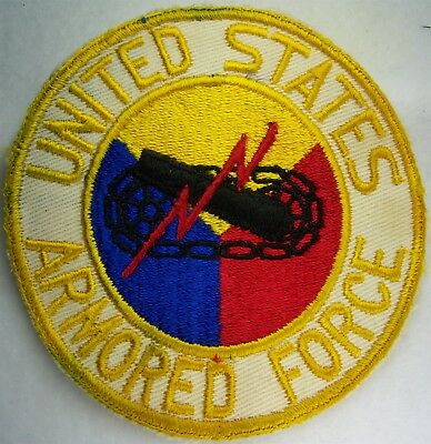Original: Pre War / WW 2  Armored Force PX / Jacket / Pennant  Twill  Patch