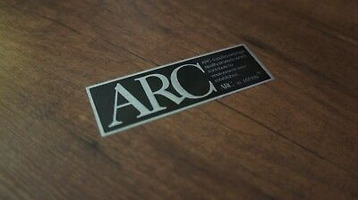 ARC Magic - aluminium sticker sheet 14 pieces - S13 S14 S15 R32 R33 R34 Z32 Z33